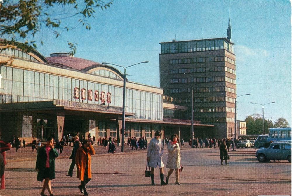 15. Ж.д.вокзал ст.Челябинск, 1973 год.