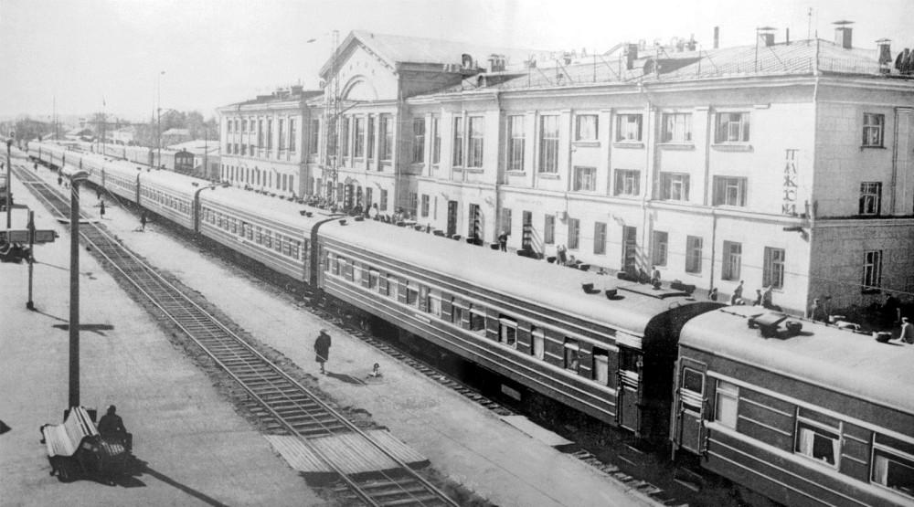 47. Ж.д.станция Киров Горьк.ж.д., 60-70-е годы.