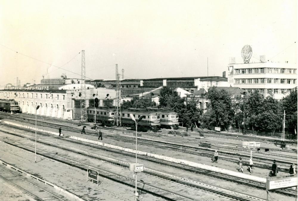 53. Ж.д.станция Курган, 70-е годы.
