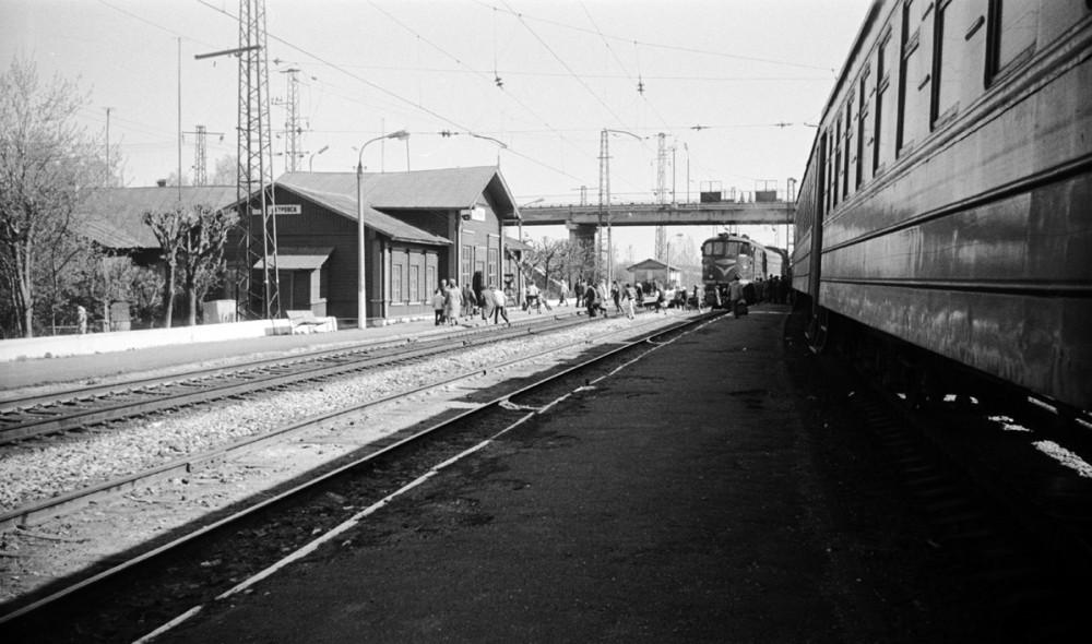 84. Ж.д.станция Петровск Сев.ж.д., 1988 год.