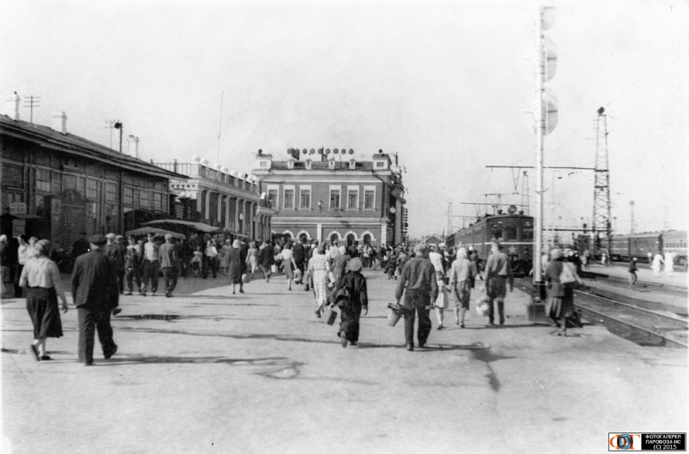 97. Ж.д.станция Челябинск, 60-е годы.