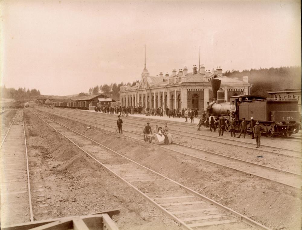 1895 год. Станция Златоуст.
