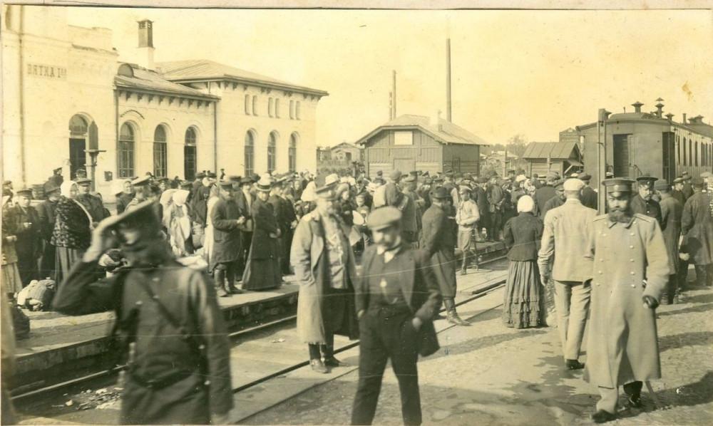 1910 год. Станция Вятка.