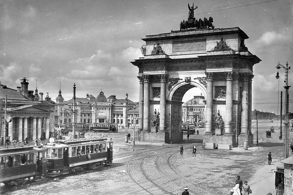 1931 год. Белорусский вокзал.