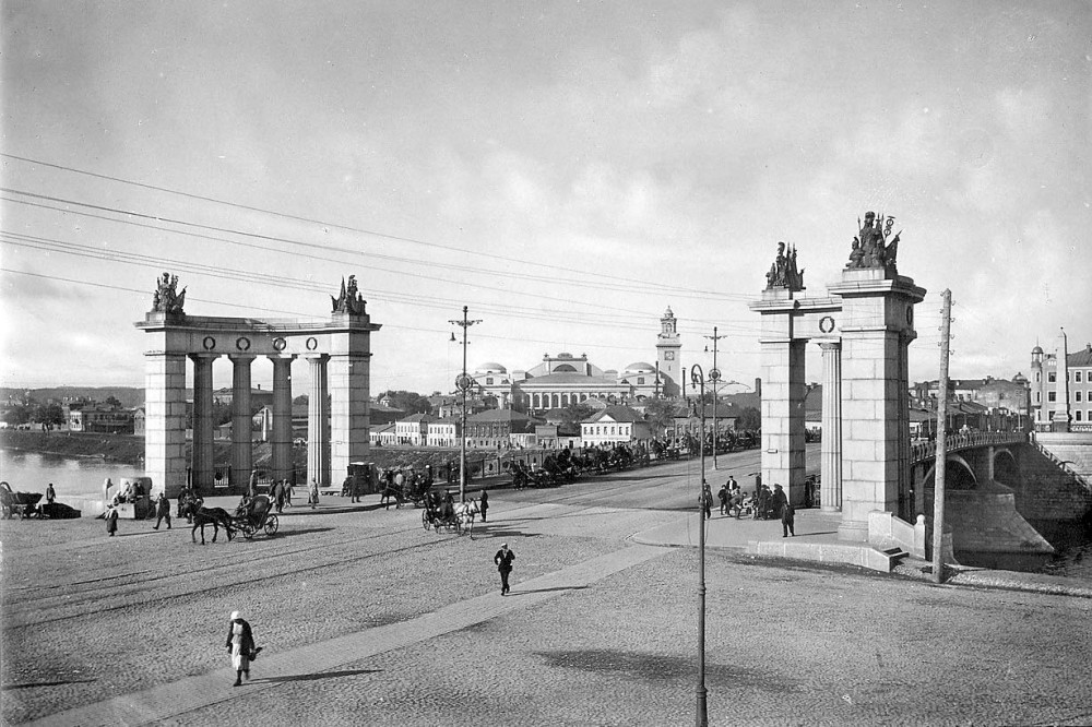 1931 год. Москва. Бородинский мост.