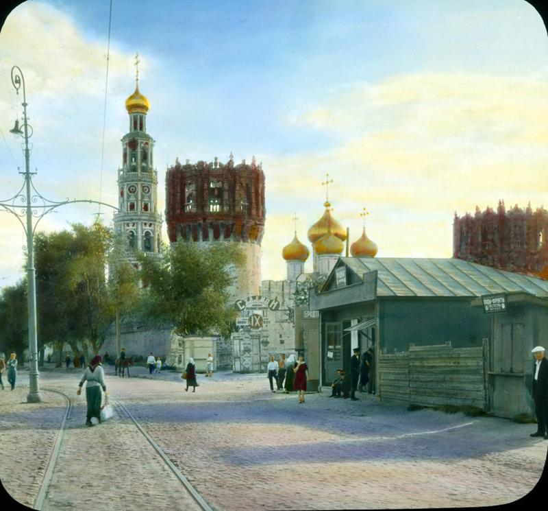 1931 год. Москва. Новодевичий монастырь.