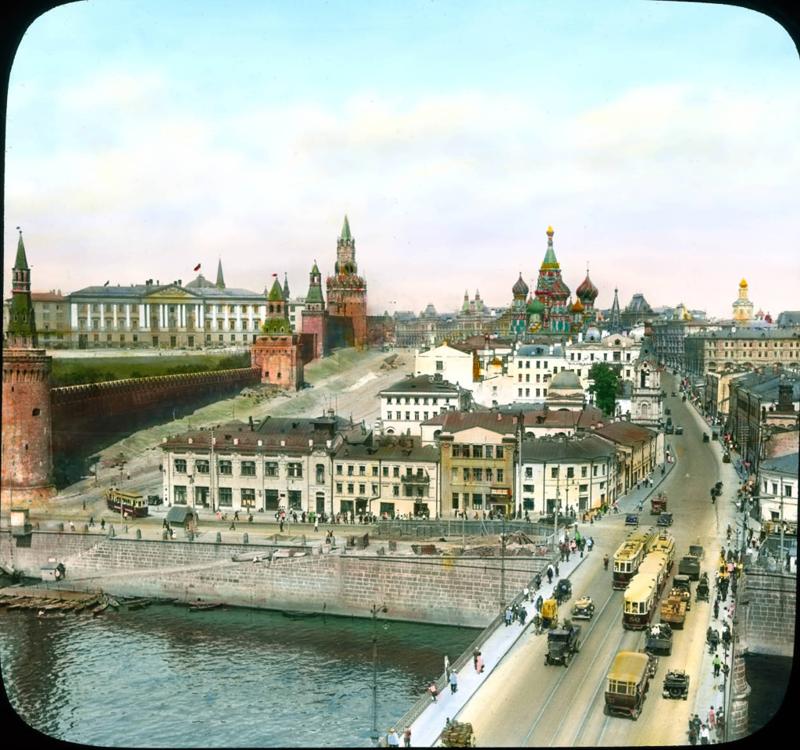 1931. Москва. Большой Москворецкий мост.