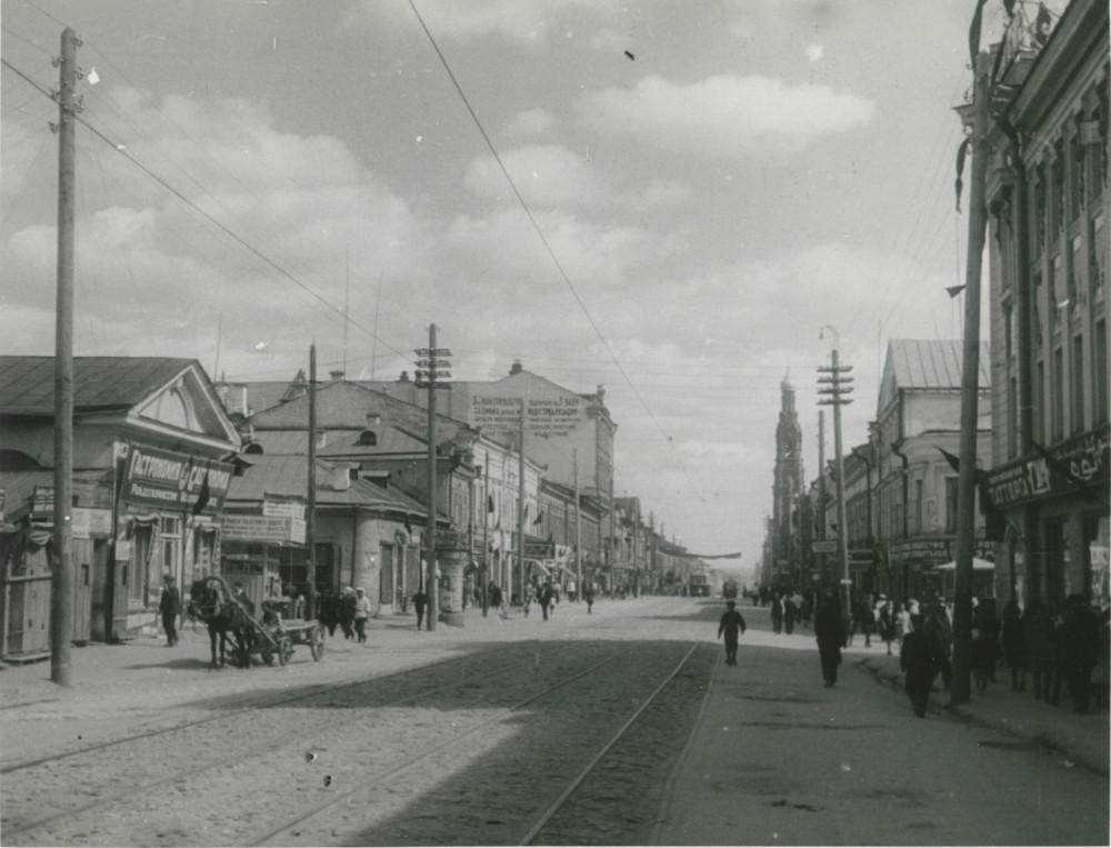 1932 год. Казань. Улица Баумана.