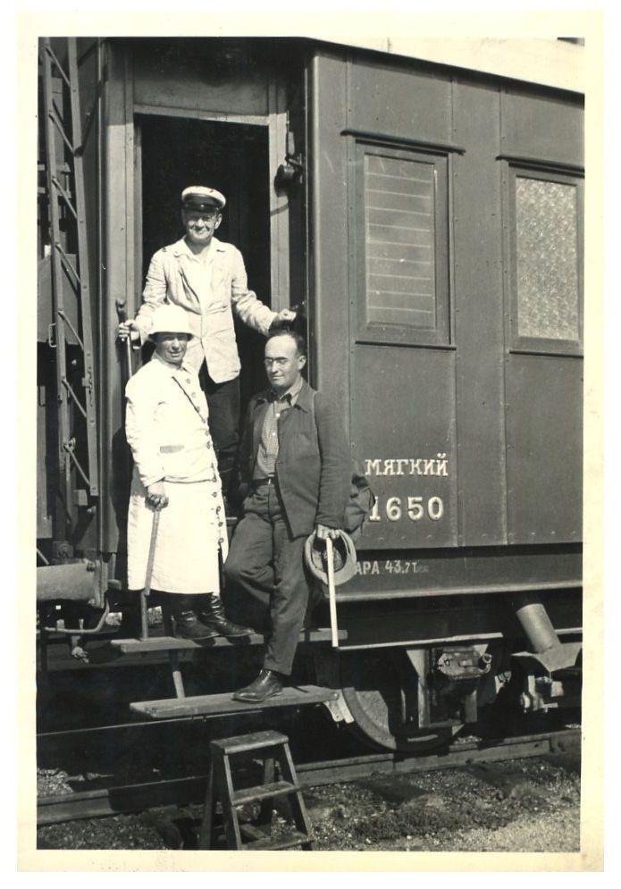 1936 год. Американцы в Сибири.