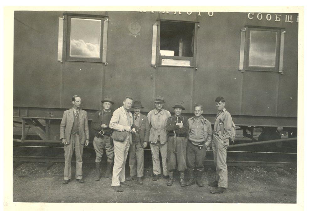 1936 год. Американцы в Сибири_
