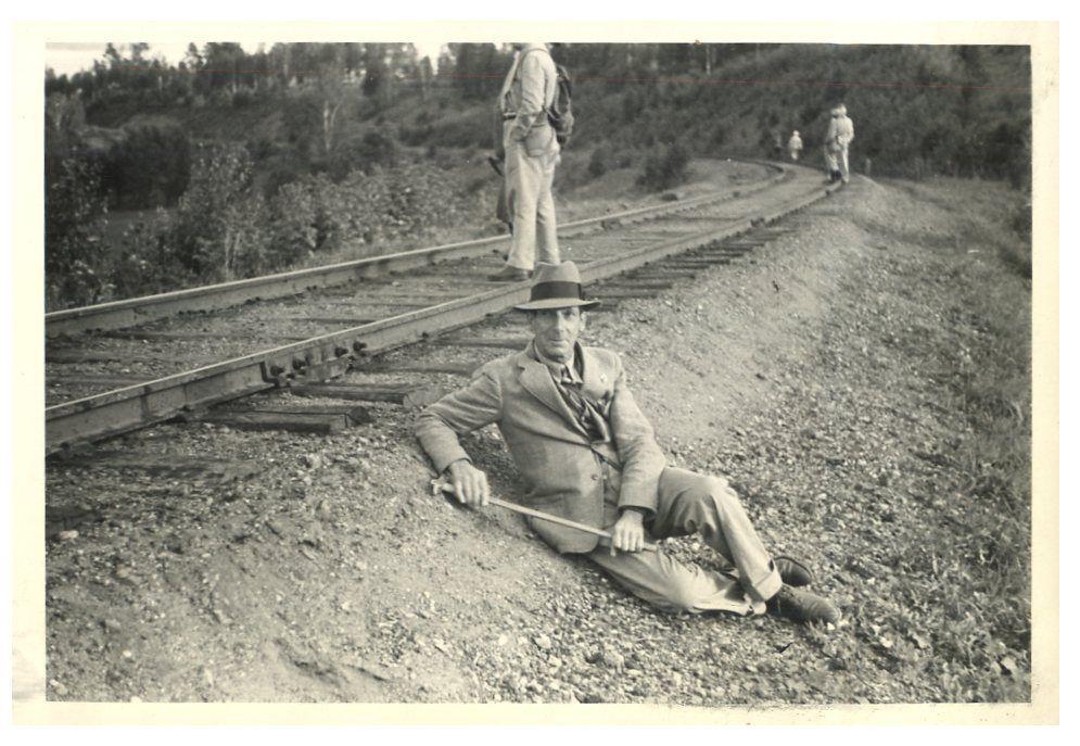 1936 год. Американцы на Транссибе.