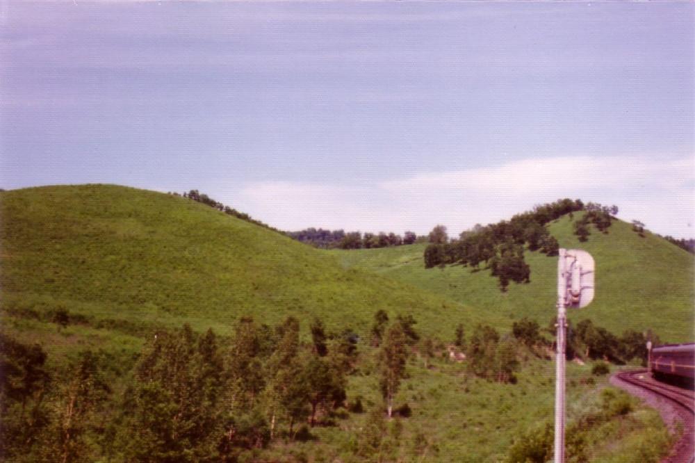 1975 год. На Транссибирской магистрали.