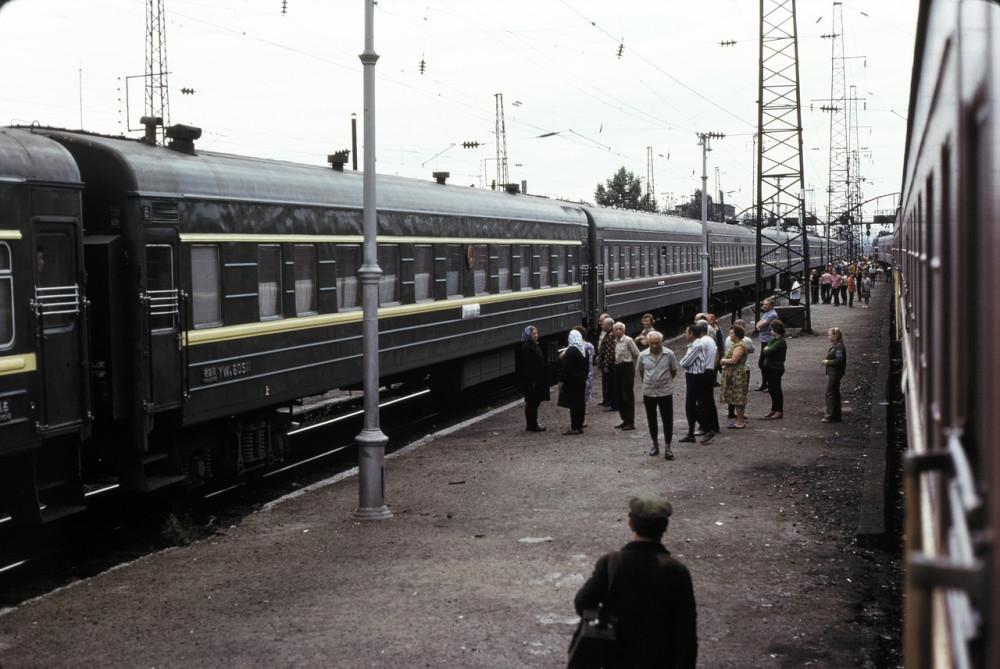 1979 год. Станция Зима.