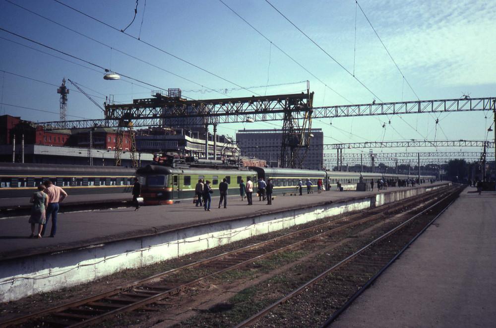 1982 год. Казанский вокзал.