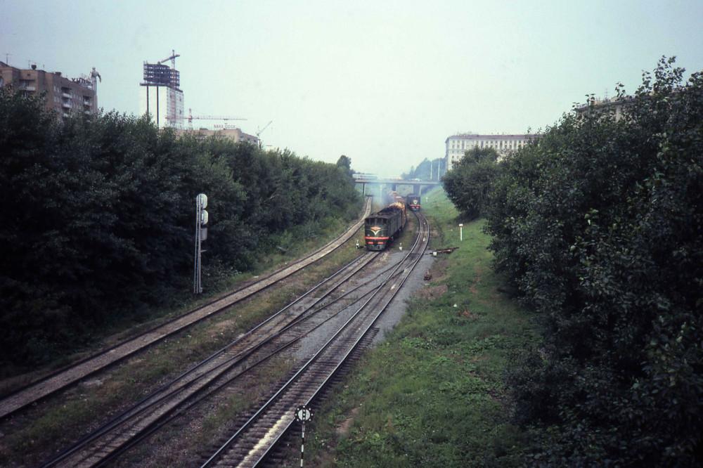 1982 год. МОЖД. Станция Канатчиково.