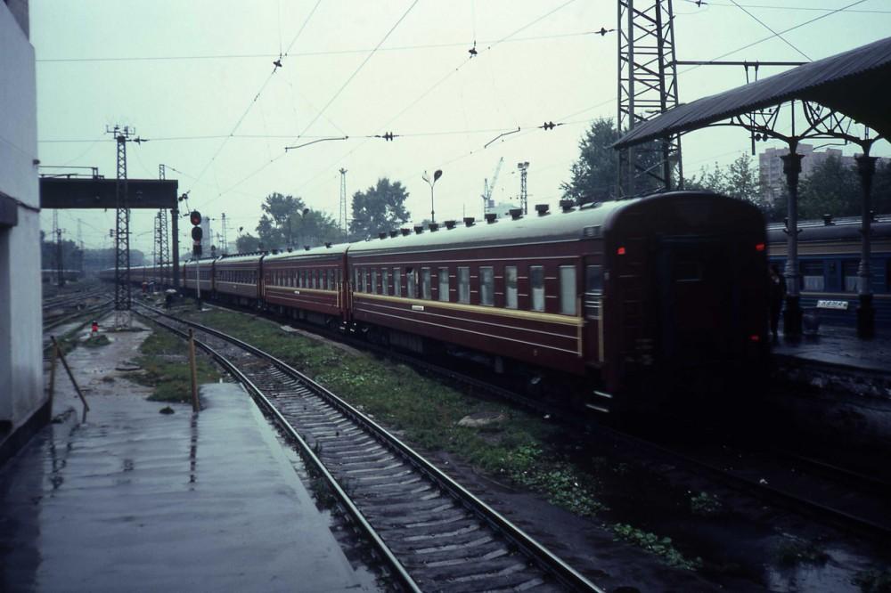 1982 год. Поезд Москва-Владивосток отправился.