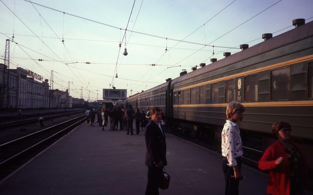 1982 год. Станция Иркутск.