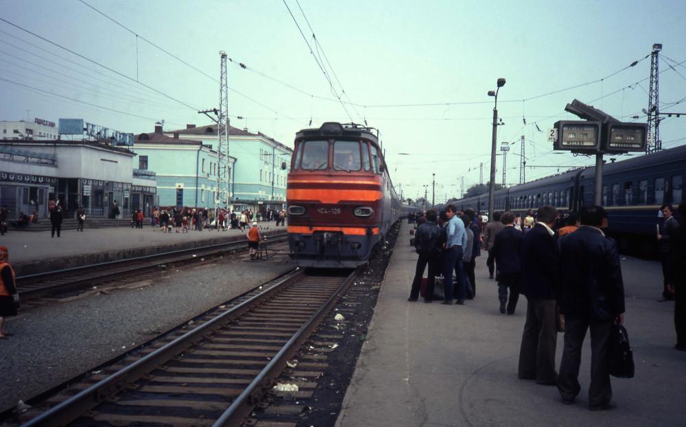 1982 год. Станция Киров.