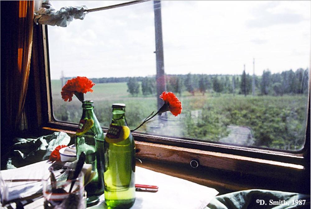 1988 год. Транссиб. Из окна вагона.