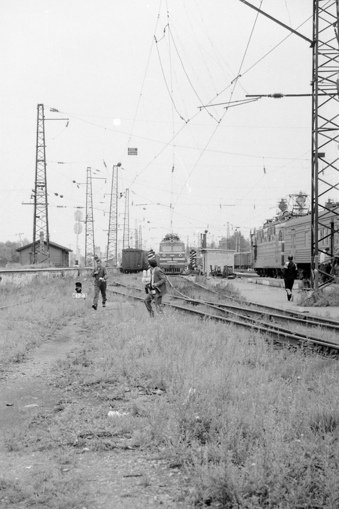 1991 год. Электровозы ВЛ60 на Транссибе.