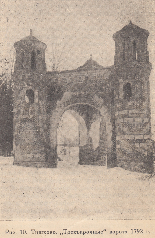 ТИШКОВО ворота