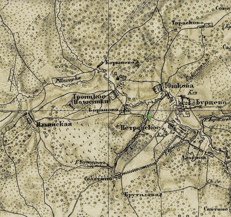 3 КАРТА ШУБЕРТА 1860