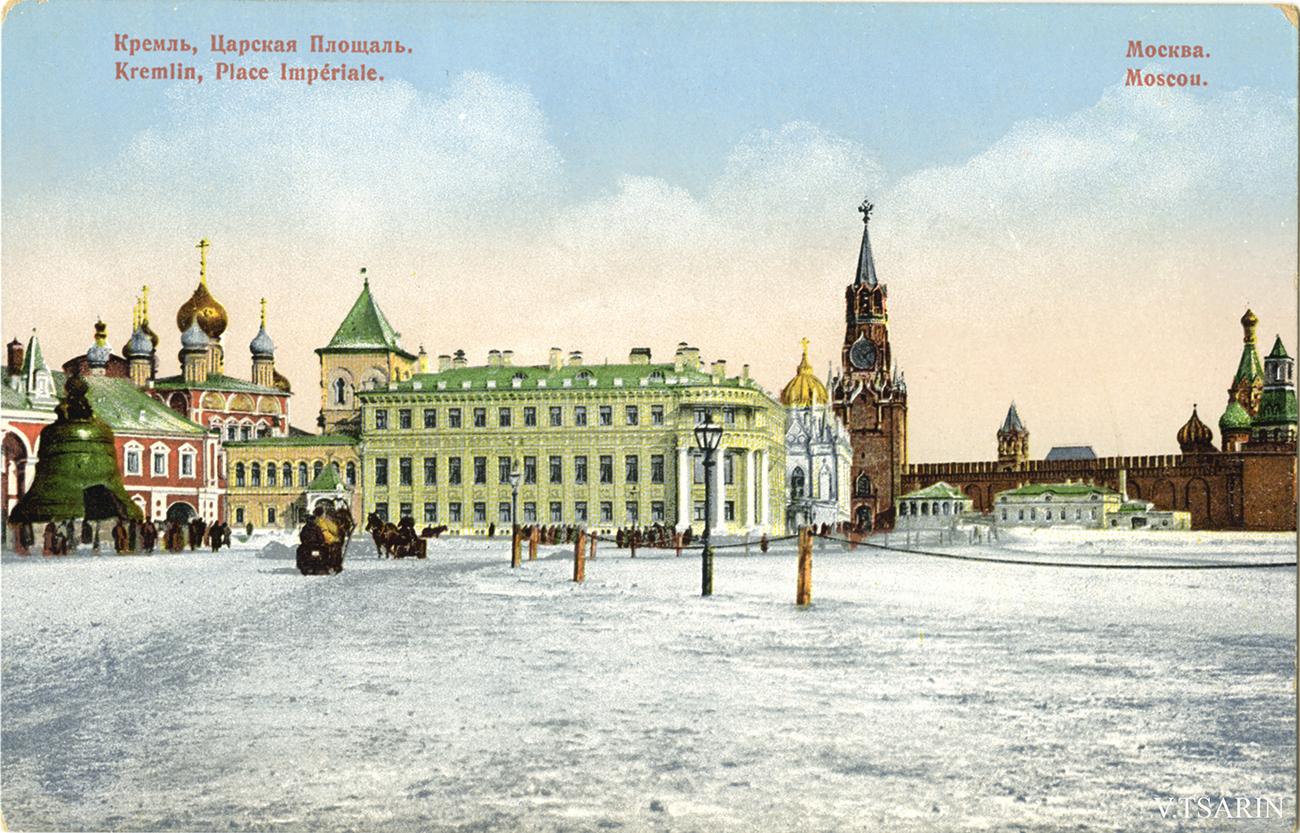 открытки с видами москвы старинные растительность способствует увеличению