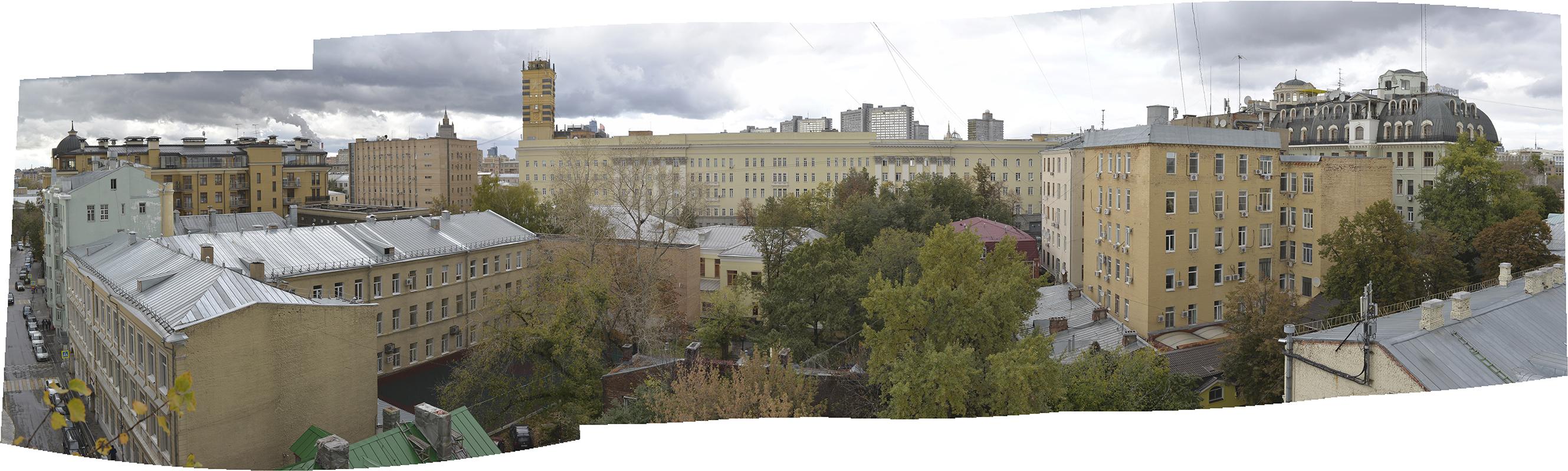 Панорама с дома Стуловых