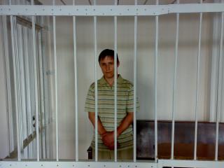 Дмитрий Соловьев в зале суда