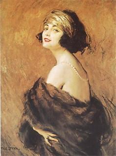 Портрет работы Яна Стыки (1858-1925)