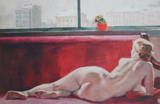 А. Дейнека. Натурщица. 1936
