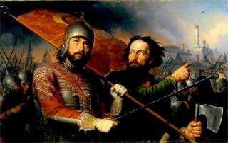 М.И. Скотти. Минин и Пожарский. 1850