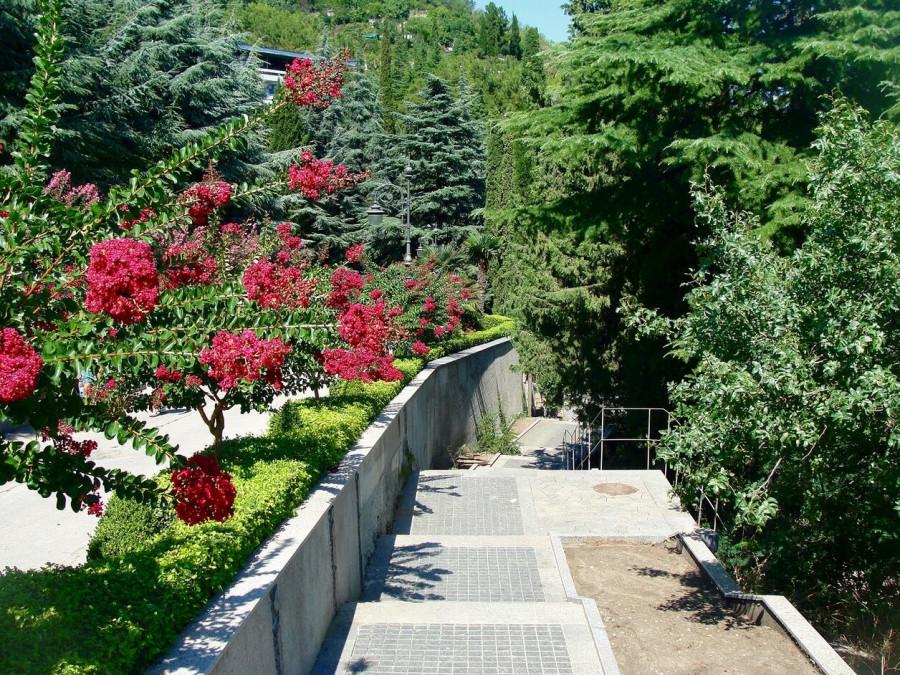 Еще раз о парке Айвазовское в Партените