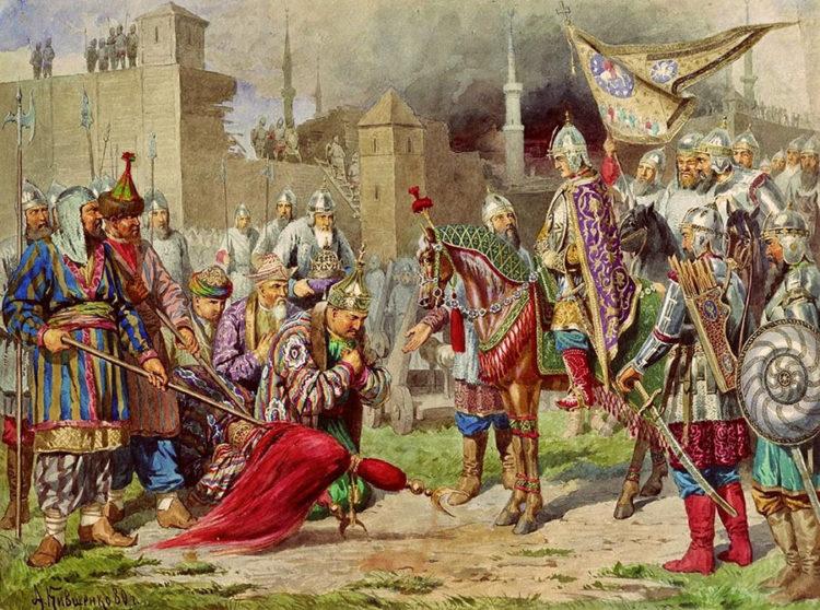 Русский календарь: 2 октября 1552 года. Русские войска во главе с Иваном