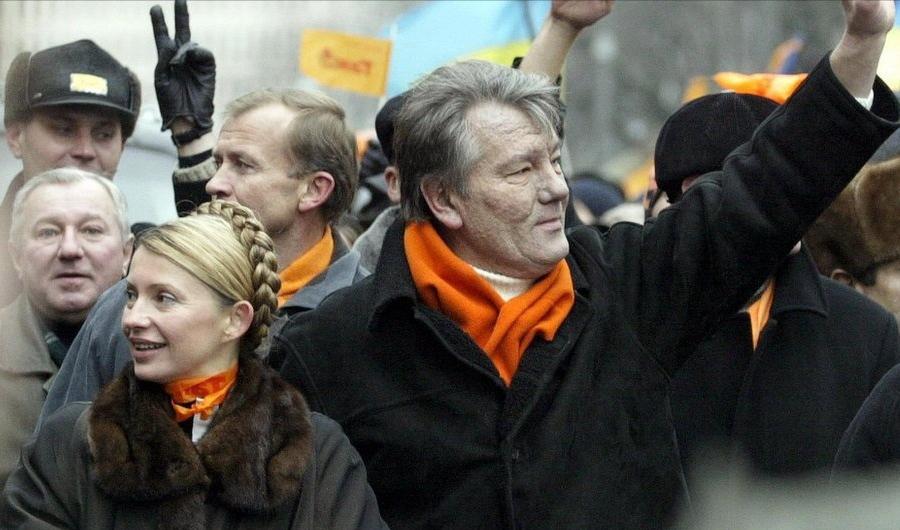 Страницы истории: 22 ноября 2004 года. В Украине началась «оранжевая революция»