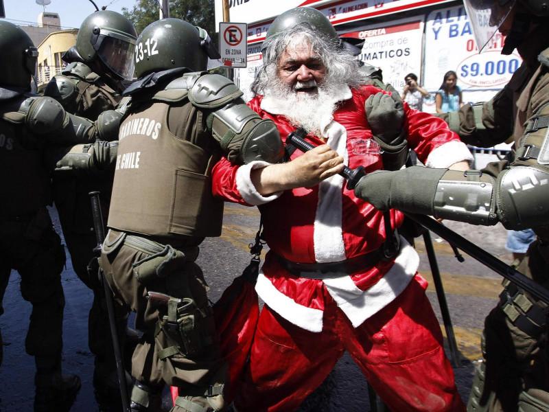 Осторожно: Санта-Клаус!