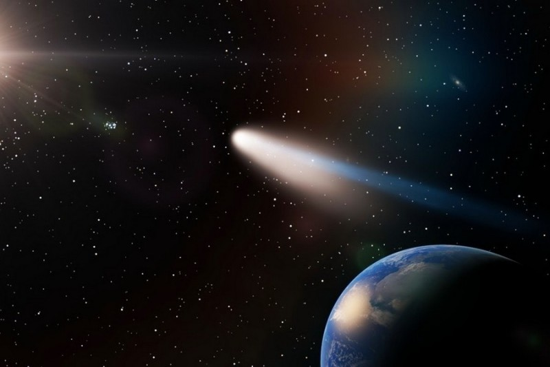 Комета Галлея. История открытия