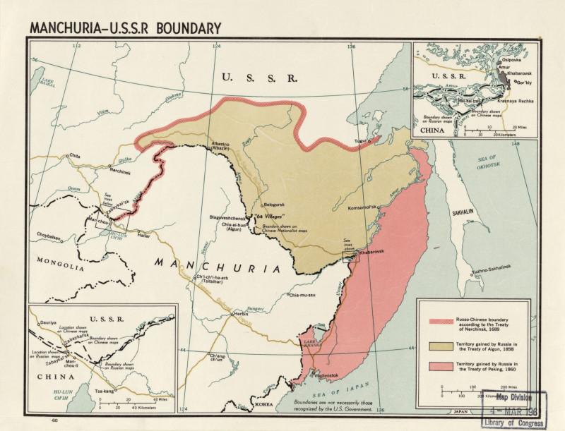 Как Российская империя без единого выстрела получила от Китая Приамурский регион