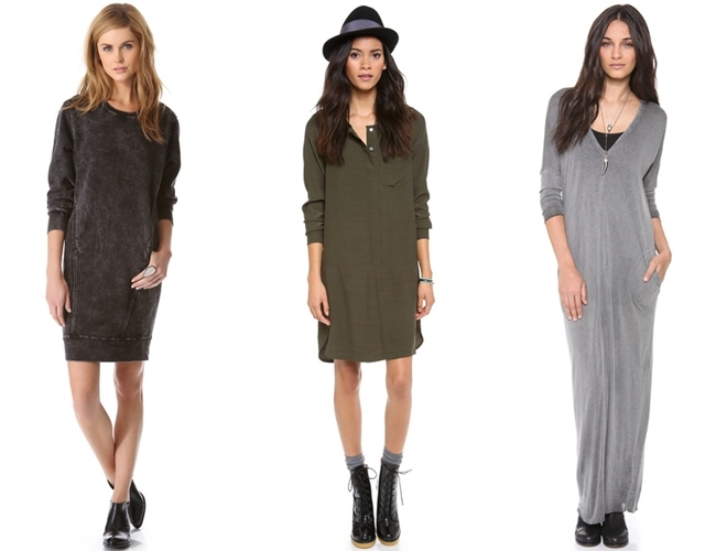 базовые платья минимализм