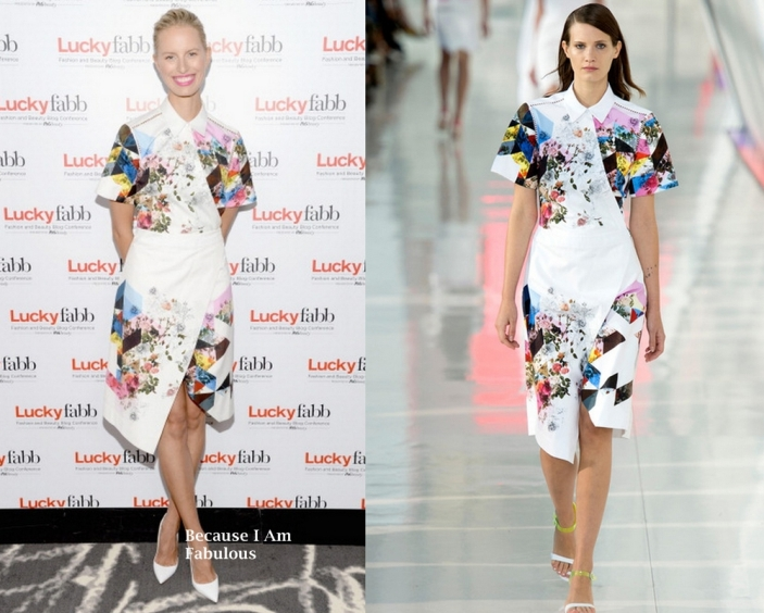 Karolina-Kurkova-Wearing-Preen-by-Thornton-Bregazzi-Lucky-FABB-Fashion-and-Beauty-Blog-Conference