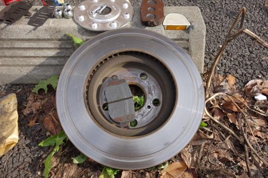 old brake disk