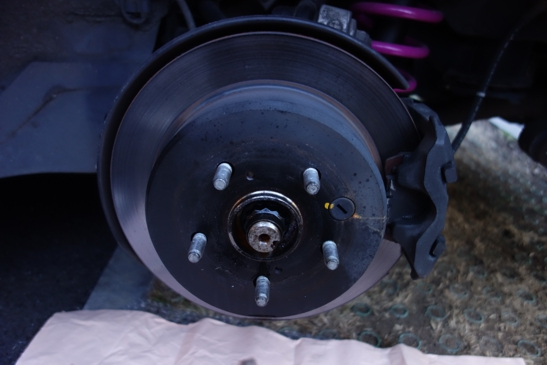 old rear disk