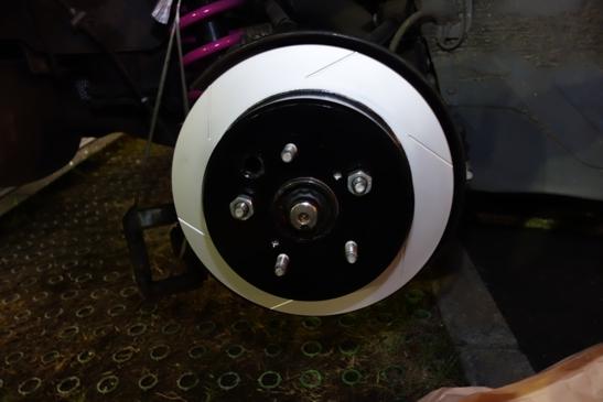 dixcel rear disk