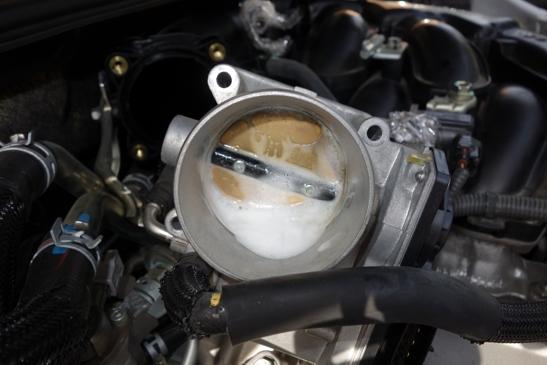 throttle body clean