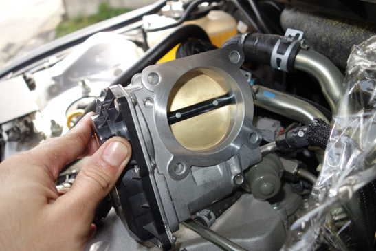 throttle body after clean