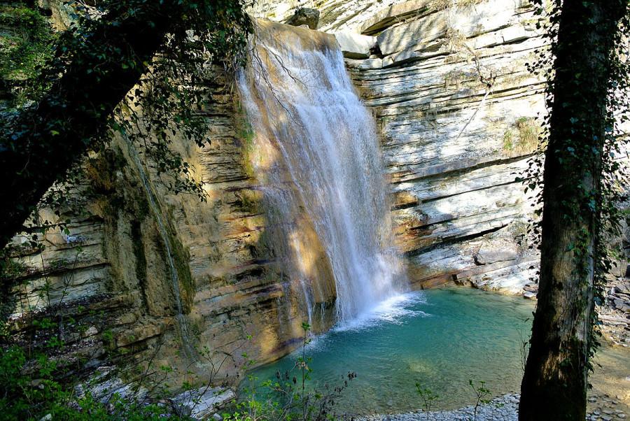 Водопад жемчужный анапа фото