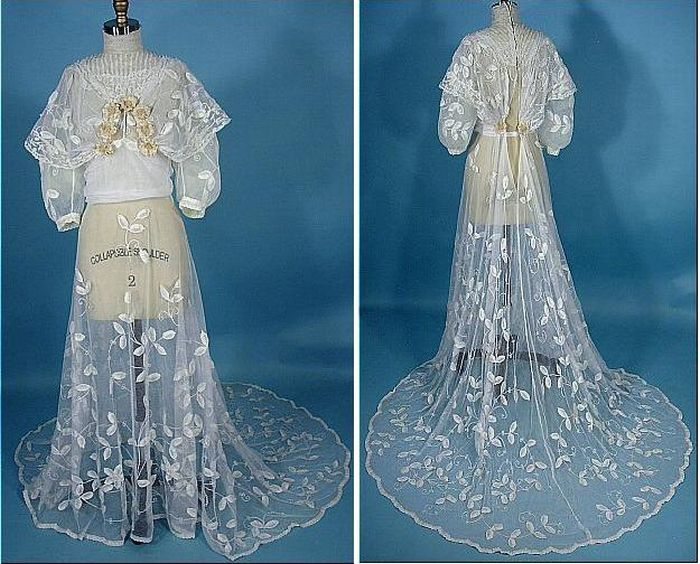 Платья 19 века свадебные