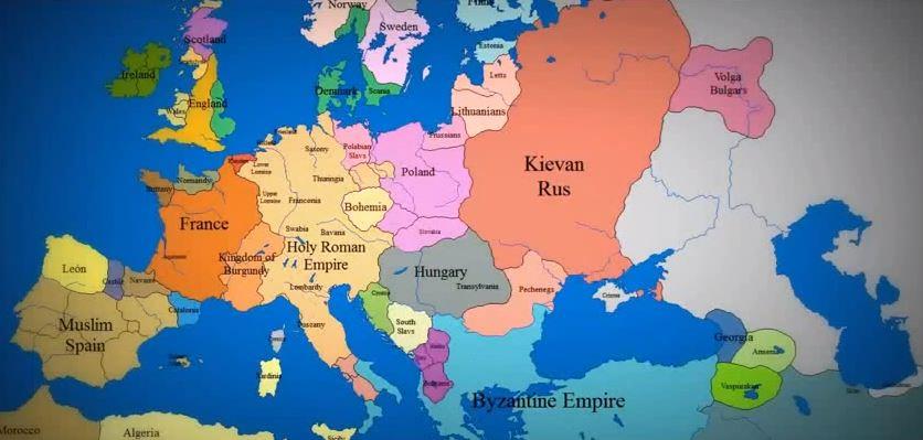 Древняя европа
