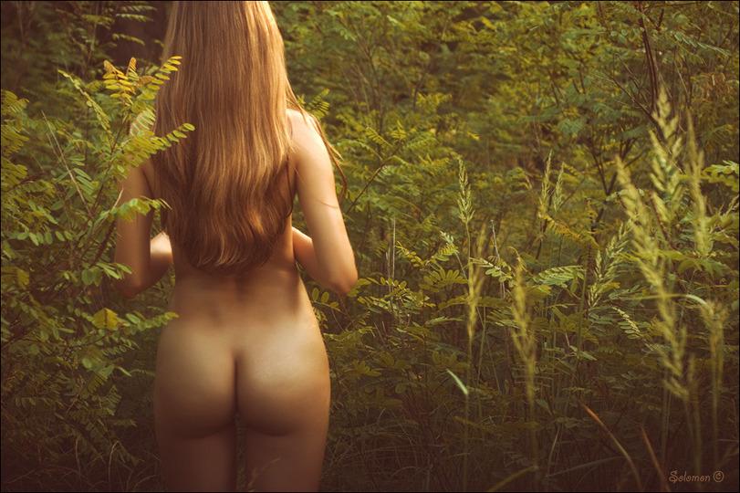 девушки вид с зади эротика фото