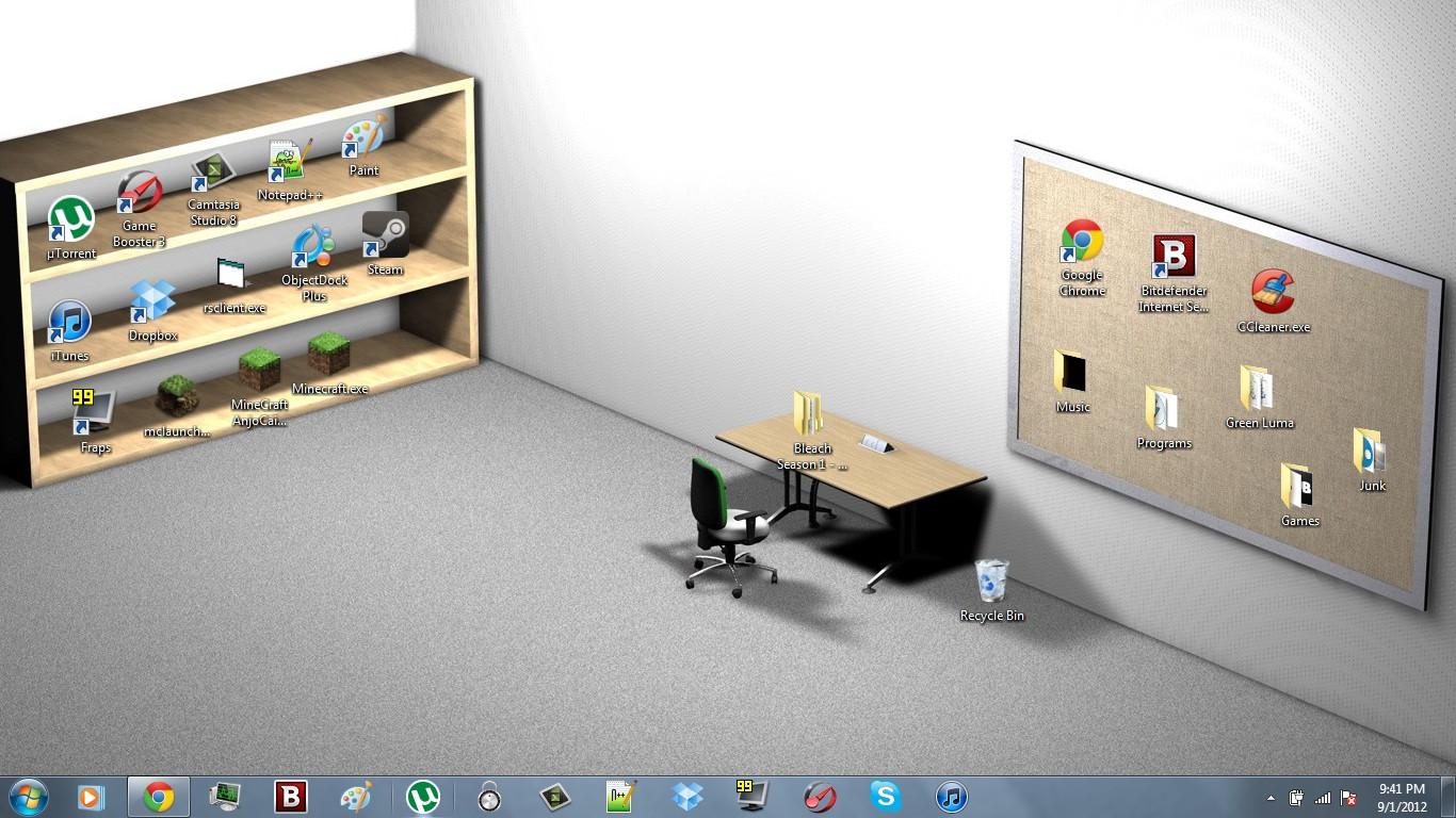Обои на рабочий стол 1920x1080 иконы
